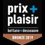 Prix plaisir Bronze 2019